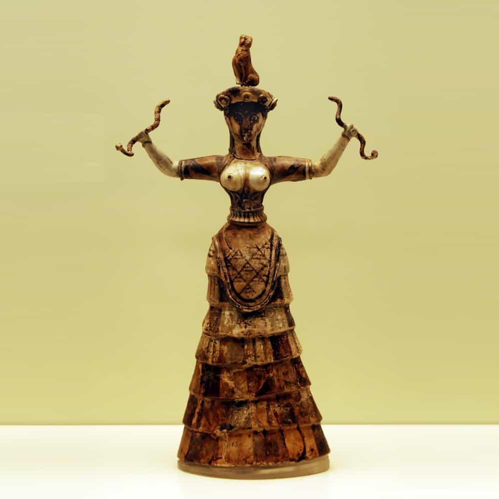 Ancient Gaia Statue venus figurines - hidden history