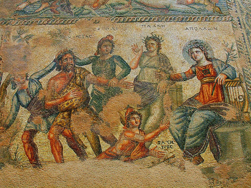 Roman Mosaic, Paphos, Cyprus